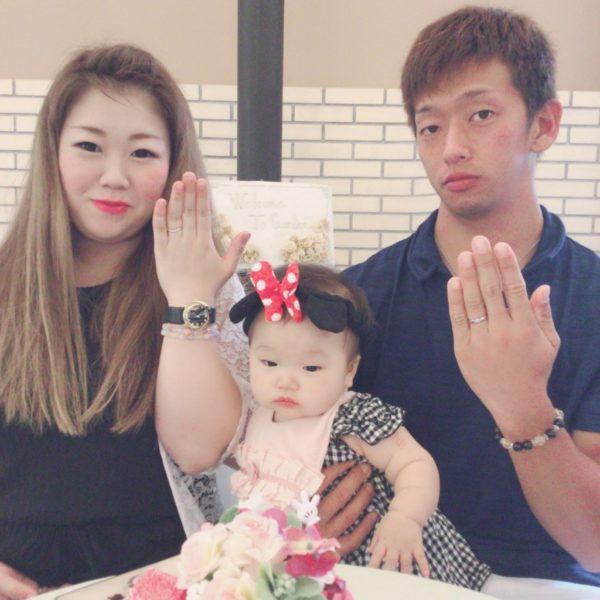 大阪府和泉市 FISCHERとMariage entの結婚指輪