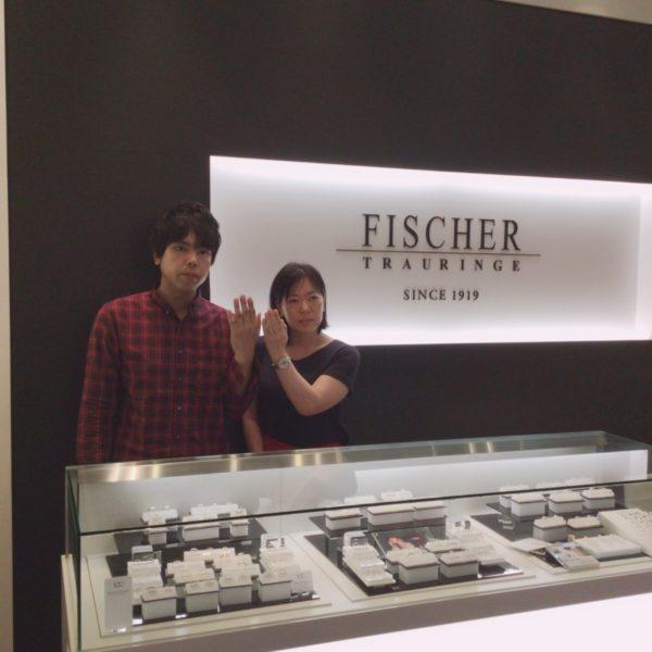奈良県奈良市 FISCHERの結婚指輪