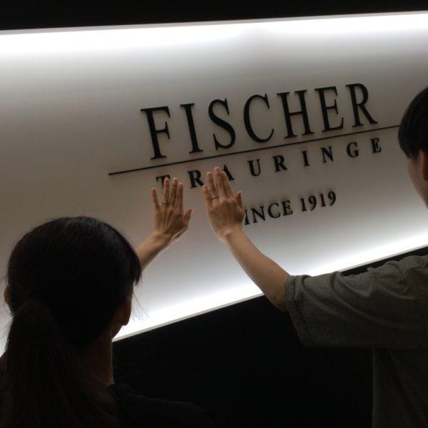 大阪府岸和田市 FISCHERの結婚指輪