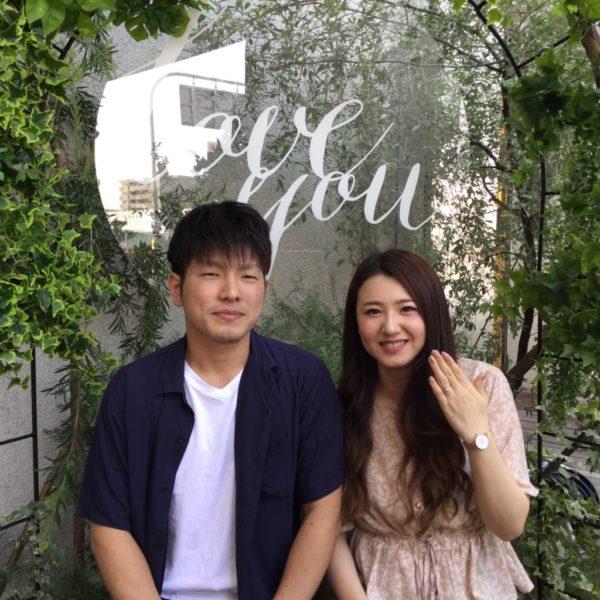 大阪府泉大津市 gardenオリジナルの婚約指輪
