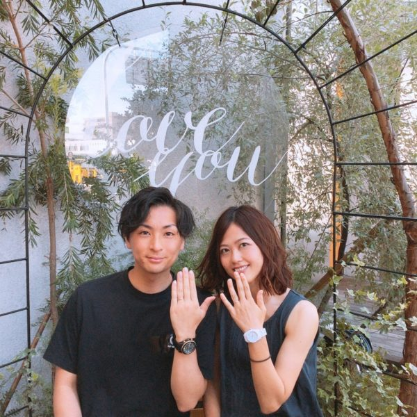 兵庫県尼崎市 RosettEの結婚指輪