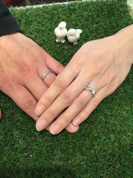 ソナーレ マリアージュの結婚指輪