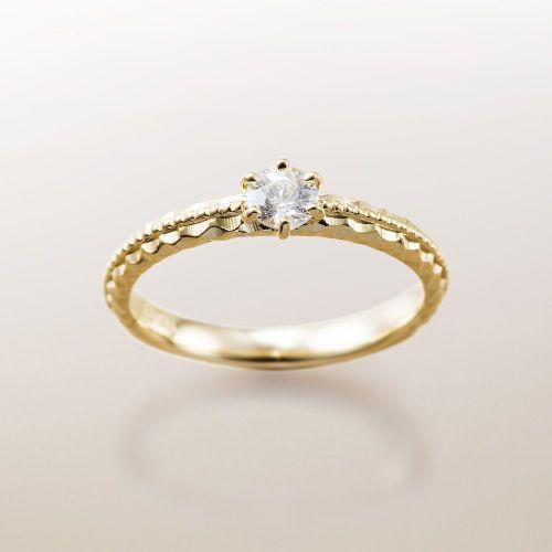マカナMakanaの婚約指輪でME-4のYG