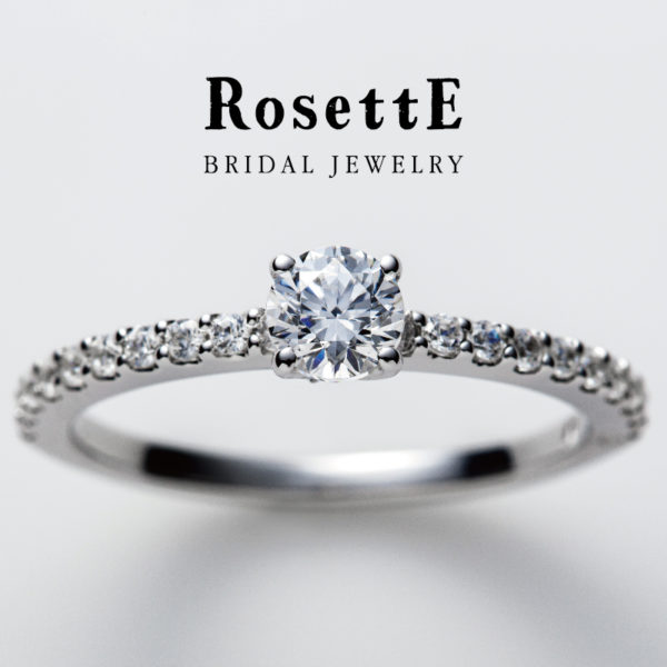 大阪岸和田堺泉州でロゼットの婚約指輪はガーデン3