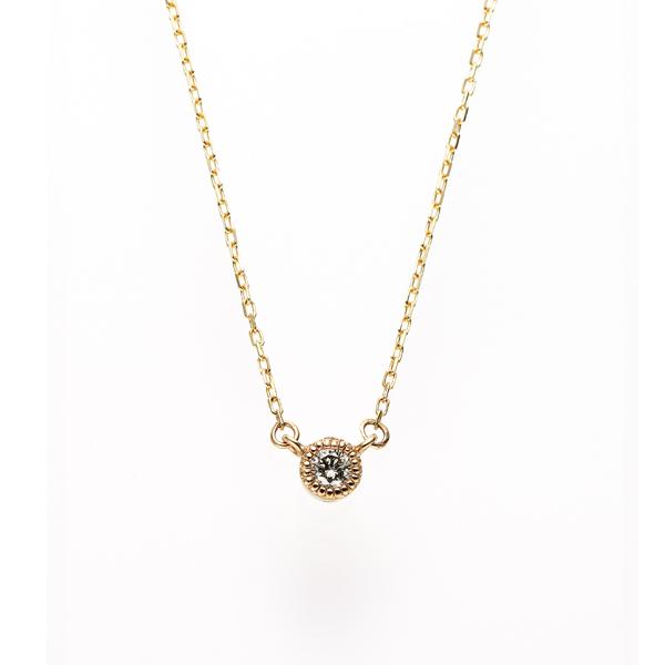 4月誕生石ネックレスダイヤモンド