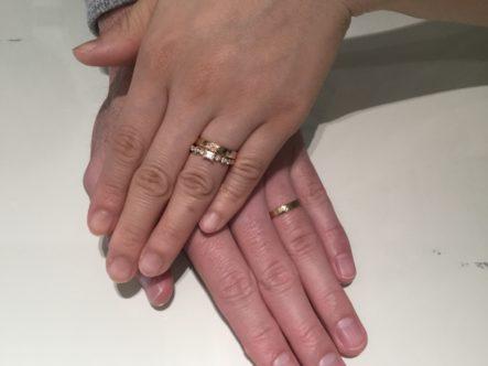 素敵な指輪、ありがとうございました