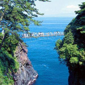 大阪gardenのサプライズプロポーズ 門脇吊橋(かどわきつりばし)