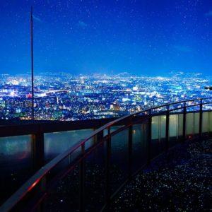 大阪gardenのサプライズプロポーズ 梅田スカイビル