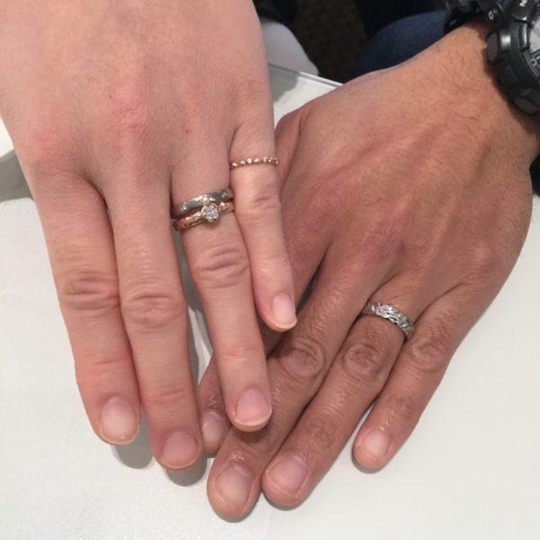 ステキな指輪を見つける事ができました。