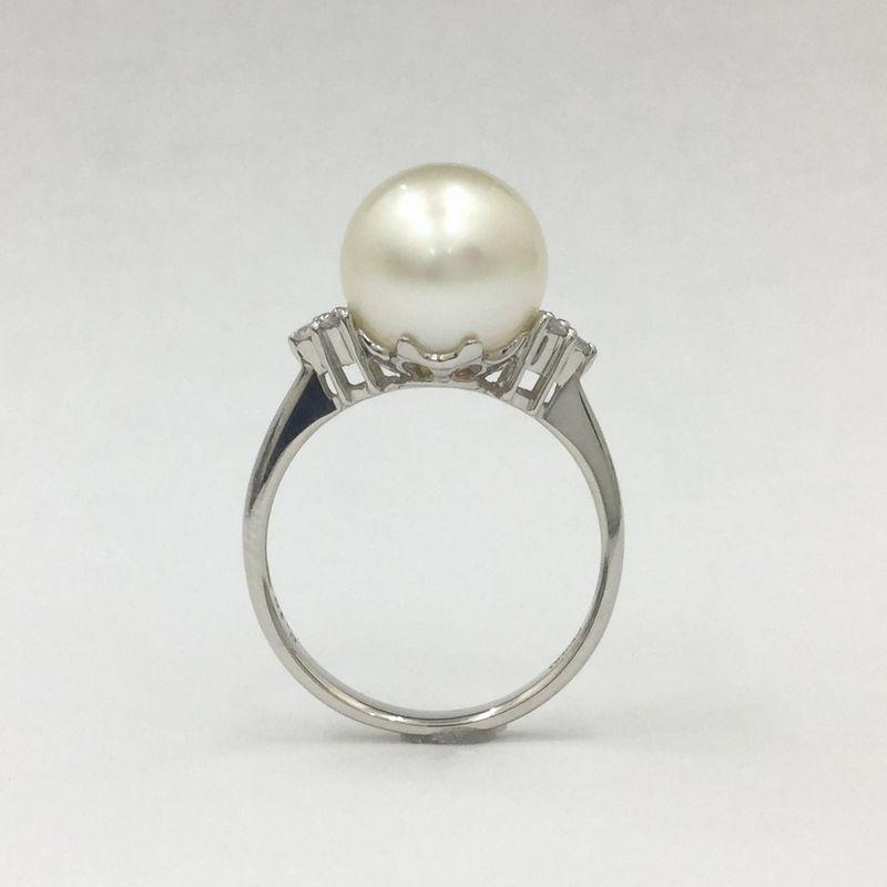 真珠の指輪(南洋珠リング)