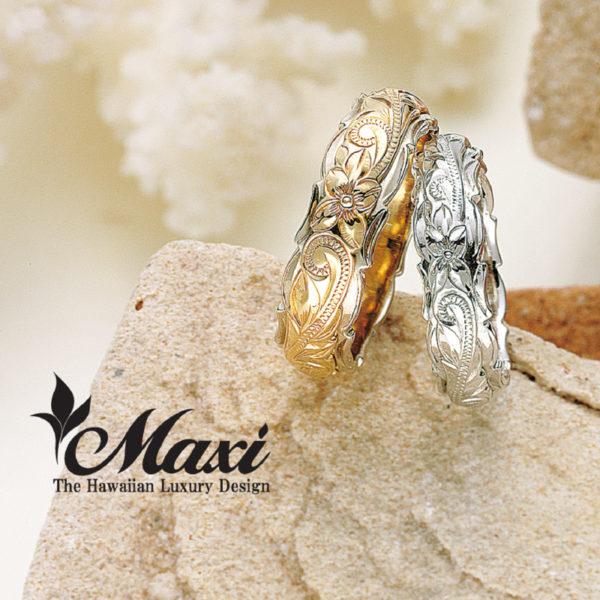 ハワイアンジュエリーマキシの結婚指輪ならgarden本店