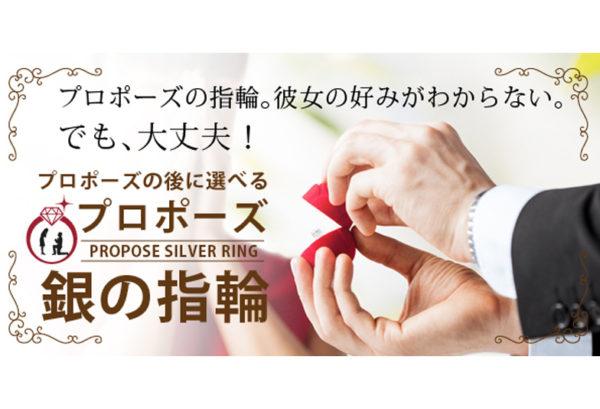 和歌山でプロポーズするなら銀の指輪プラン