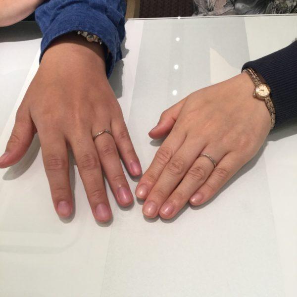 指輪の種類が充実していました