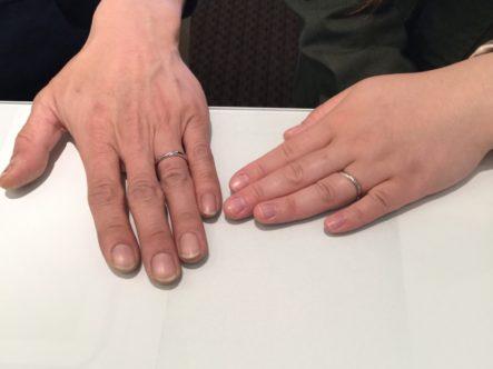 主人が婚約指輪を選んでくれたお店だから