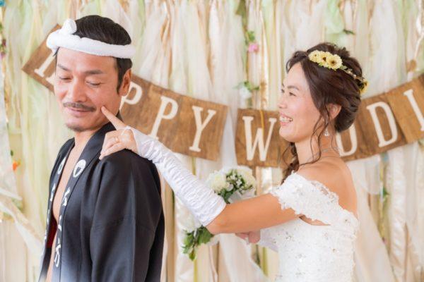 大阪・岸和田市の安いフォトウエディング結婚式前撮り口コミ