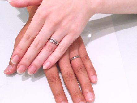 天然のピンクダイヤモンドが可愛い♡