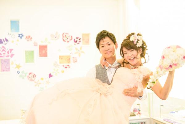 大阪の結婚前撮りドレス撮影安い
