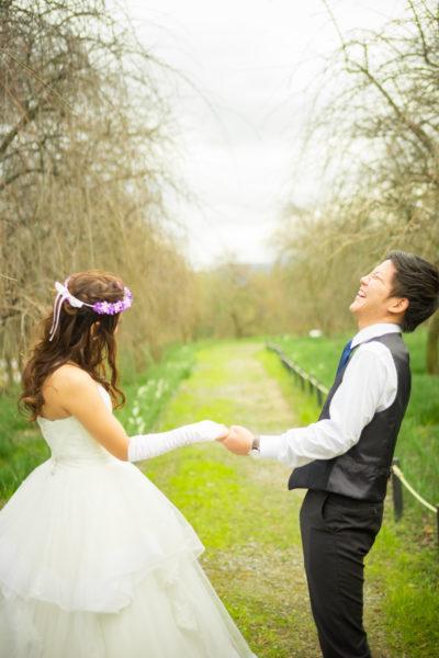 大阪の結婚前撮り和泉環境リサイクル公園