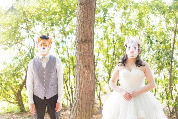 大阪の結婚前撮りドレスロケーションりんくう公園