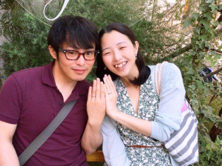 gardenのオリジナル婚約指輪・アイデアル・ひなの結婚指輪 (松原市)