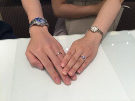 ラパージュとロゼットの指輪(岸和田市)