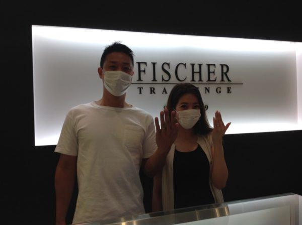 FISCHER(フィッシャー)の結婚指輪 大阪府和泉市