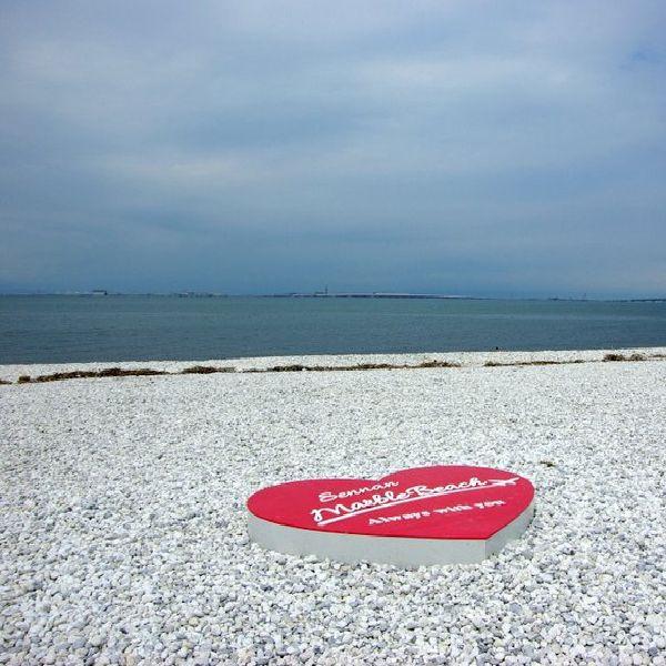 南大阪泉州のプロポーズスポットのマーブルビーチ