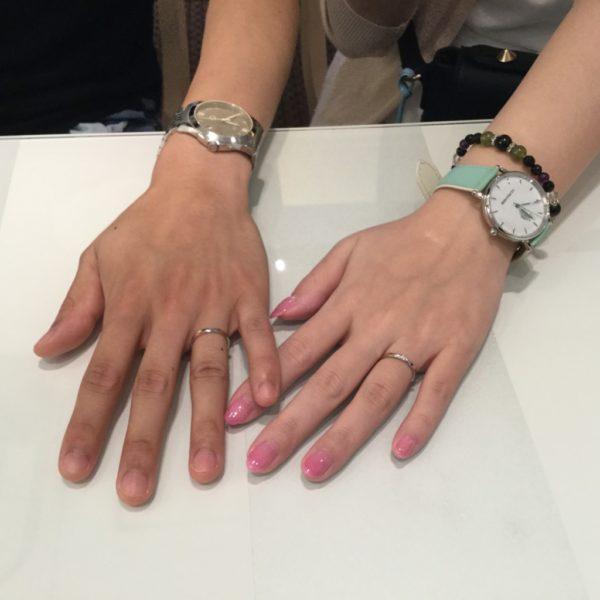ノクルの結婚指輪をご成約頂きました。(泉大津市)