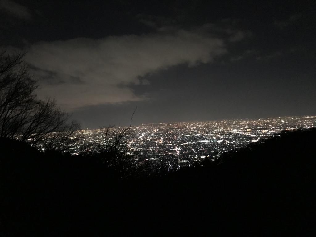 奈良県でプロポーズ生駒山