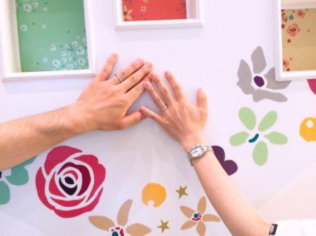 ラパージュの結婚指輪をご成約頂きました。