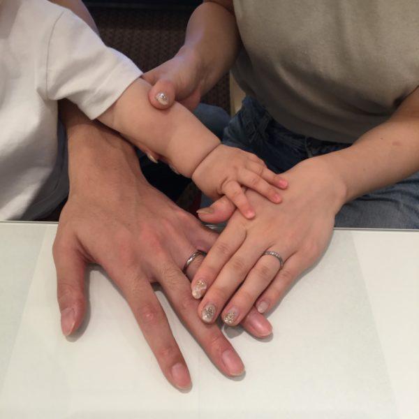 フィッシャーの結婚指輪をご成約頂きました。(堺市)
