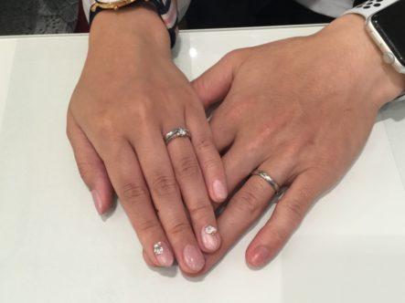 ラパージュの結婚指輪をご成約いただきました(大阪市東成区)