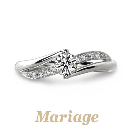 Mariage entの婚約指輪プルミエール