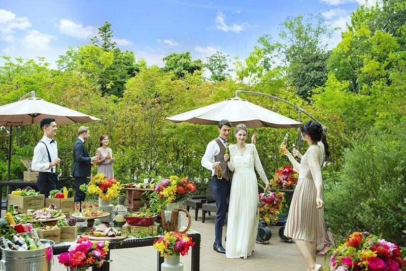 奈良県の結婚式場アールベルアンジェ奈良ガーデン