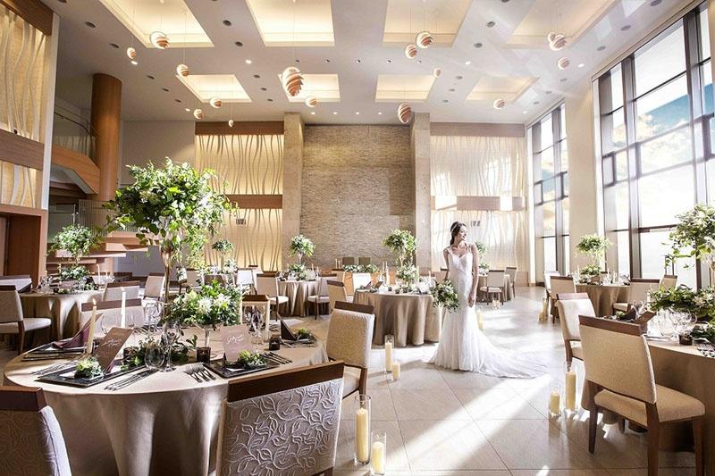 奈良県の結婚式場アールベルアンジェ奈良披露宴会場