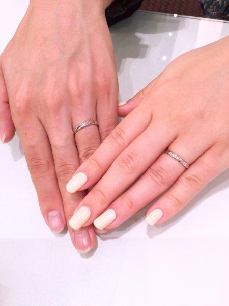 プリートの結婚指輪をご成約頂きました。(堺市東区)