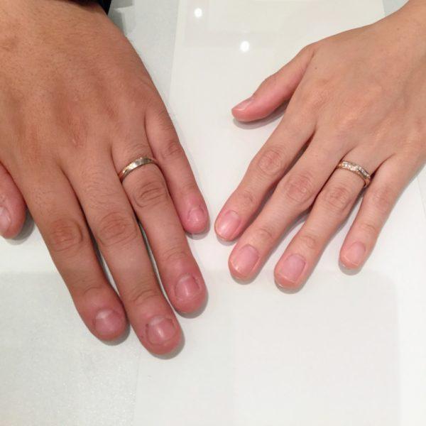 ゲスナーの結婚指輪をご成約頂きました。(阿倍野区)