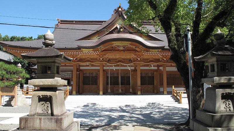 南大阪結婚式の和装は岸城神社