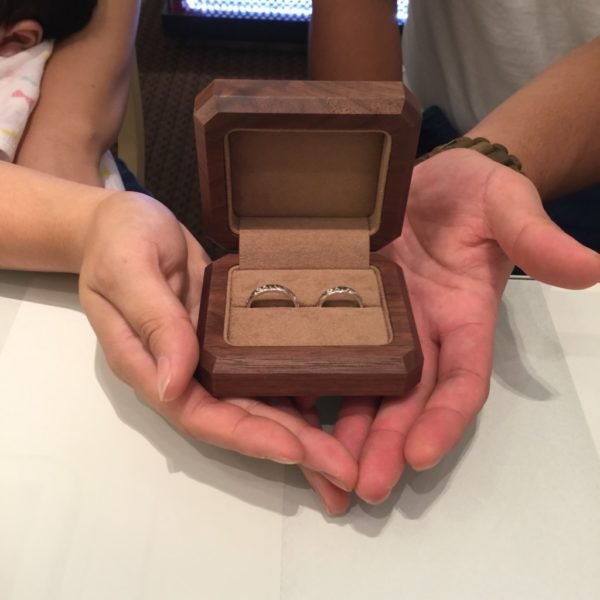 マカナの結婚指輪をご成約頂きました。(岸和田市)