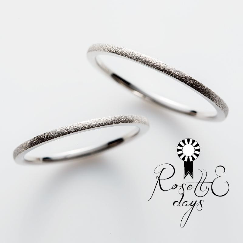 RosettEDaysの結婚指輪バジル