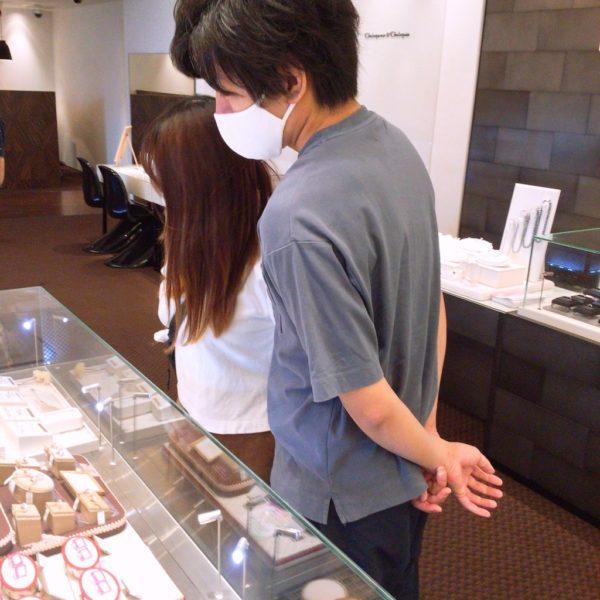 ソナーレの結婚指輪をご成約頂きました。(堺市北区)