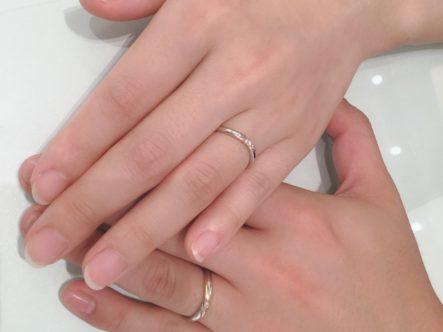 アムールアミュレットの結婚指輪をご成約頂きました。(河内長野市・東淀川区)