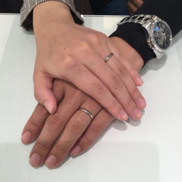 フィッシャーの結婚指輪をご成約頂きました。(堺市中区)