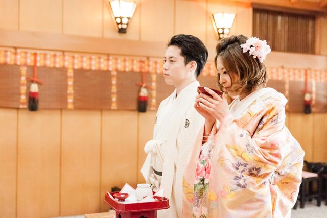 南大阪結婚式の和装は岸和田天神宮