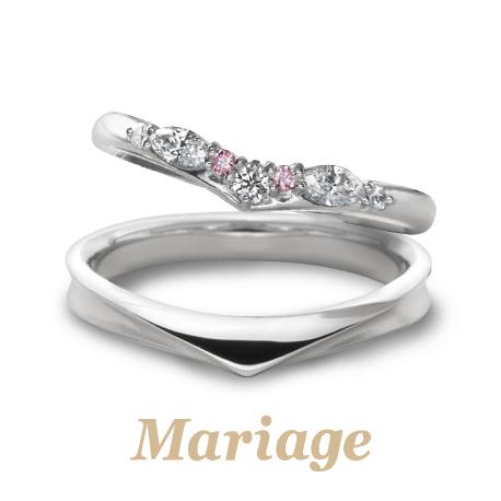 Mariage entの結婚指輪ロン・ボヌール