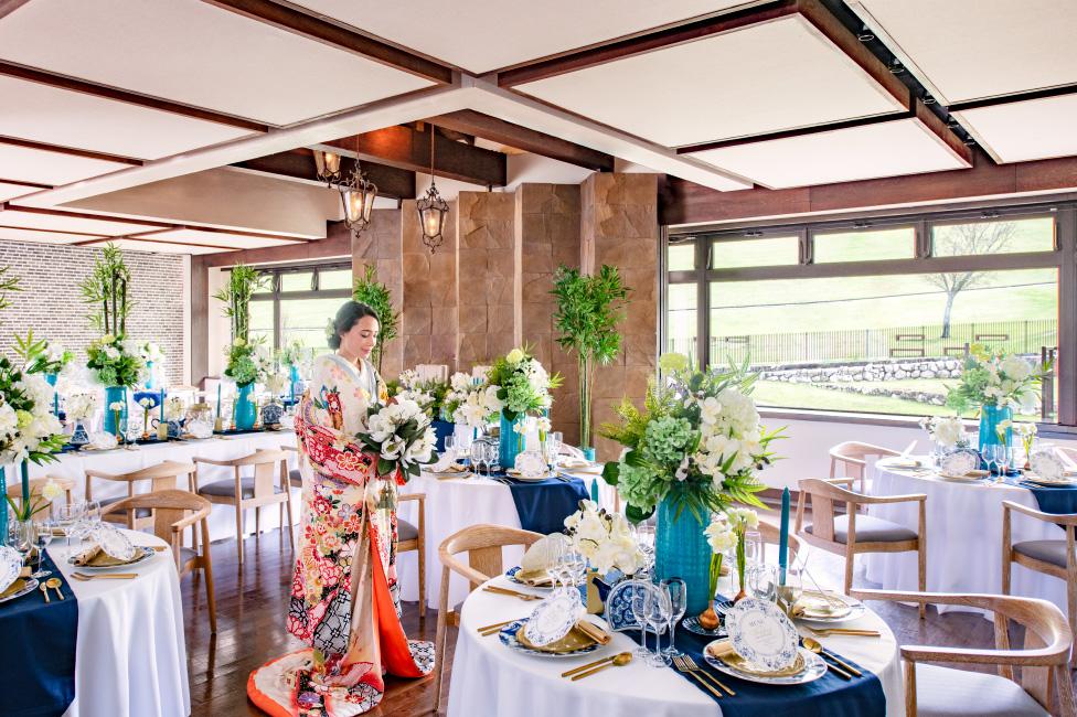 奈良県の結婚式場ザ・ヒルトップテラス奈良披露宴会場