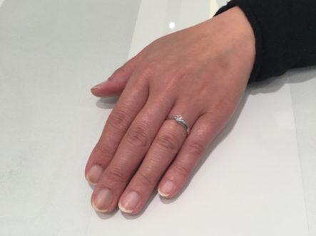 マリアージュエントの婚約指輪 (和泉市)