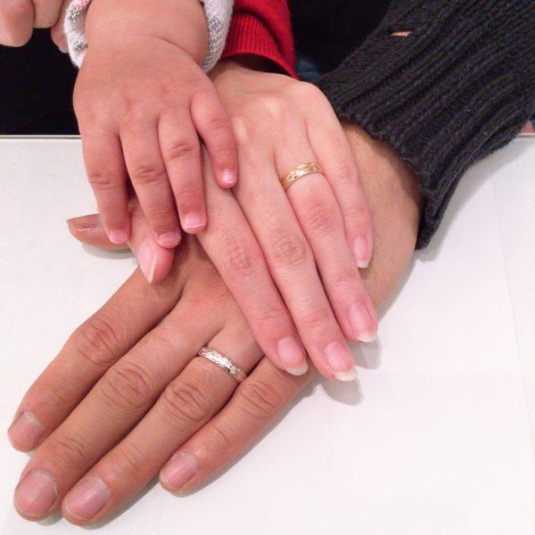 ハワイアンジュエリーの結婚指輪(豊中市)