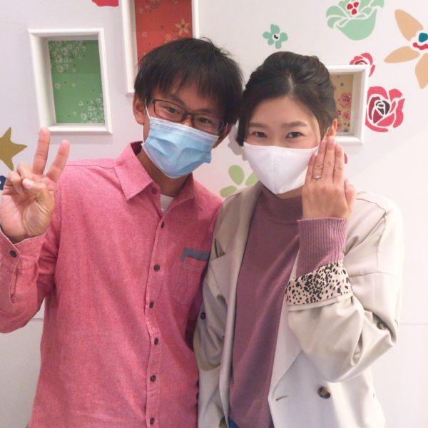 プロポーズリング・ひなの婚約指輪(岸和田市)