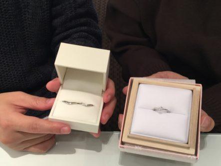 エトルとひなの結婚指輪(泉大津市)